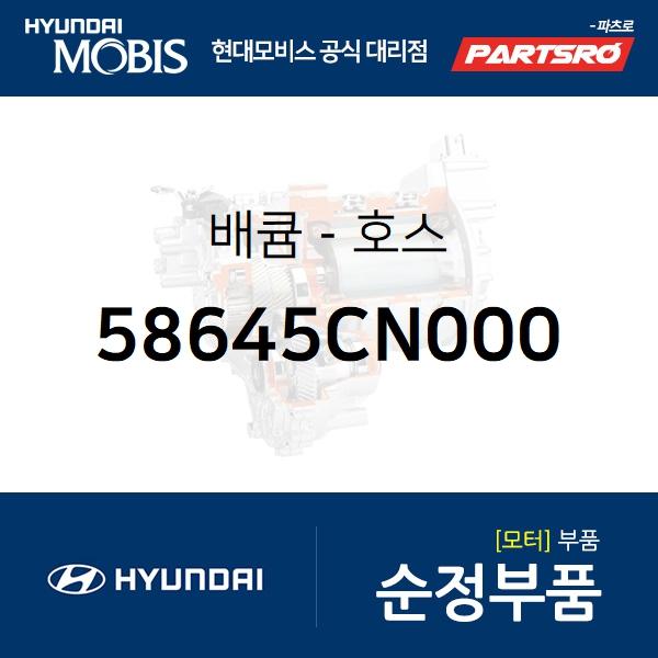 배큠-호스 (58645CN000) 포터2 일렉트릭(전기차 EV) 현대모비스부품몰